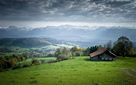 Landscape Wallpaper Hut