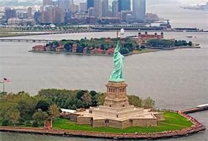 Statue of Liberty and Ellis Island