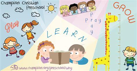 why ccs preschool champion christian preschool 956   play pray laugh grow