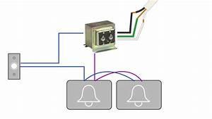 Single Doorbell Wiring Diagram - Albertasafety