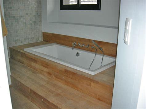 baignoire encastr 233 e contemporain salle de bain
