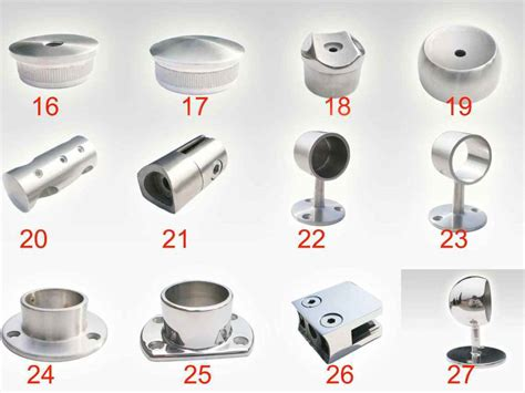 China Stainless Steel Handrail Fitting