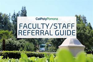 Faculty  Staff Resource  U0026 Referral Guide