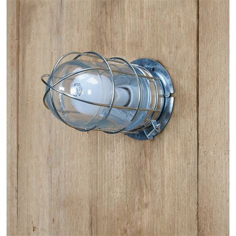 canarm ceiling wall barn light with cage 120v 100 watts bl04cwg northern tool