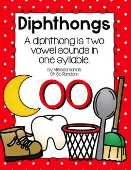 oo diphthong anchor chart practice click file print