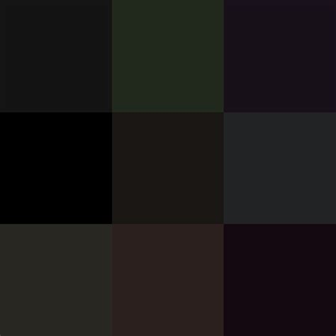 shades of black color significado de cada color taringa