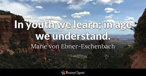 youth  learn  age  understand marie von ebner