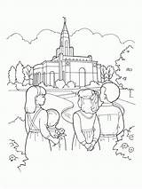 Children Temple Coloring Lake Drawing Pages Salt Church Line Going Library Families Lds Sheets Gazing Plan Homeschool Deseret Popular Getdrawings sketch template