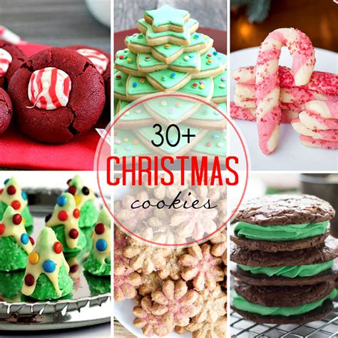30 christmas cookie recipes wishes and dishes