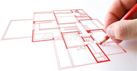 desenho da planta da casa imagem de stock imagem de