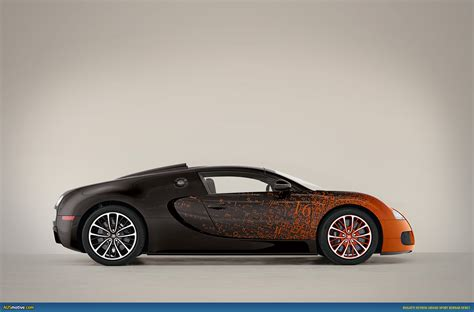 Ausmotivecom Bugatti Grand Sport Bernar Venet Revealed