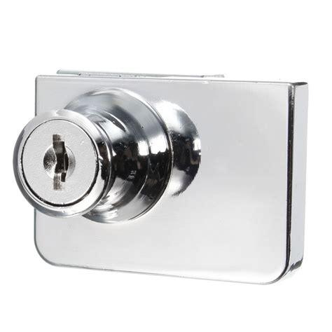 glass cabinet door locks double glass cabinet door keyed lock tone cam key showcase
