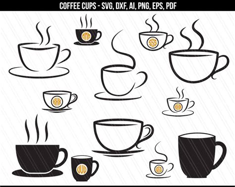 If coffee isn't your thing, check out these other mug ideas that you can create with vinyl. Coffee cup SVG, Coffee svg files, Coffee mug svg, Cafe svg, Coffee cup monogram,Kitchen svg ...