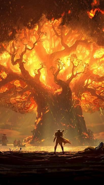 Warcraft Battle Azeroth Screenshot 8k 2k Wallpapers