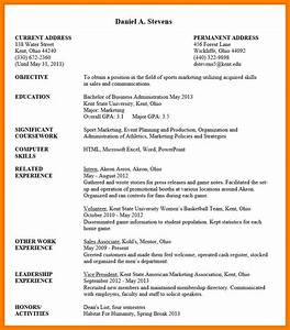 Sample Resume Undergraduate Best Resume Collection