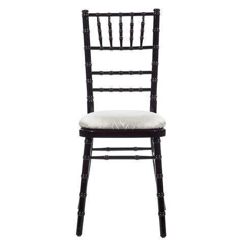 mahogany chiavari chair american rentals