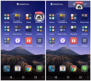 How to boost RAM using APUS launcher