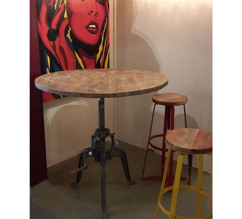 house canapé d angle table bar industrielle a manivelle réglable quot atelier grey
