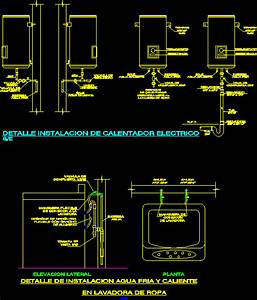 Detail Heater And Washer Dwg Detail For Autocad  U2013 Designs Cad