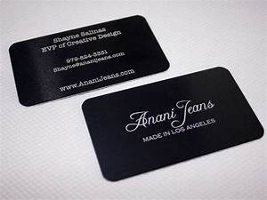 double sided laser etched aluminum business card metal With laser etched business cards