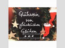 Glühwein Lustige Weihnachtskarte