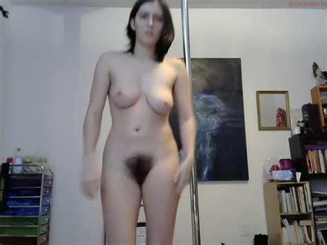 Hot Brunette With Full Bush Naked Dancing Free Porn C