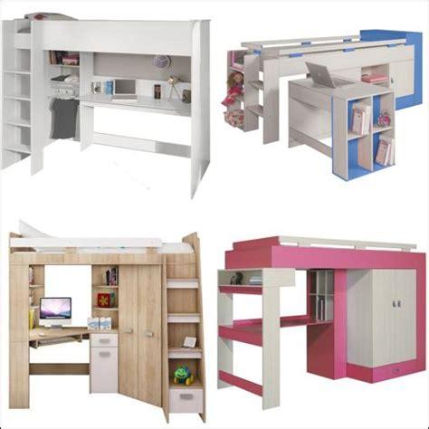 lit à étage avec bureau lit bureau enfant pas cher with lit a etage avec