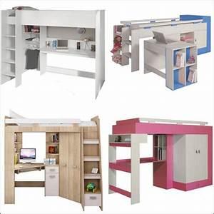 Bureau Chambre Fille : lit bureau enfant choix et prix avec le guide d 39 achat kibodio ~ Teatrodelosmanantiales.com Idées de Décoration