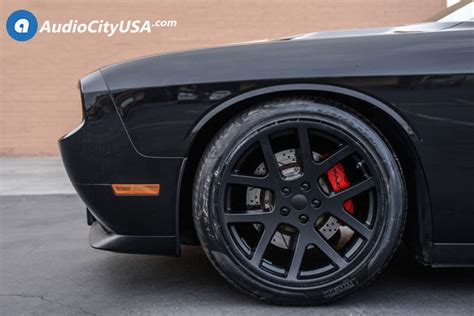 staggered dodge lx viper wheels satin black oem