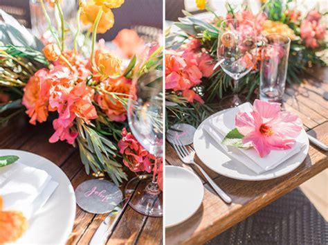 tropical table ls cheap tropical hawaiian beach wedding