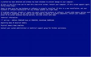 Blue Screen Error Wallpaper (72+ images)
