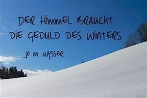 Sprüche Winter Schnee : winterspr che kurze winterzitate ~ Watch28wear.com Haus und Dekorationen