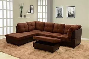 3 piece microfiber sectional sofa wwwredglobalmxorg for 3 piece microfiber recliner sectional sofa