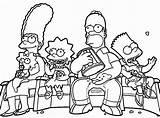Simpsons Coloring Simpson Printable Halloween Lisa Bart Sheets Maggie Homer Characters Template Funny Pdf Colorings Getdrawings Aesthetic Cartoon Getcolorings Colorin sketch template