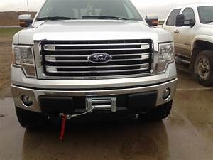 Ford F-150 Questions - Measurements For Front Bumper