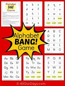 8 best images of printable abc games for kindergarten With games to learn letters preschool