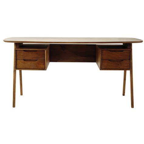 chaise de bureau fille bureau vintage en manguier l 165 cm janeiro maisons du monde