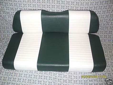 Club Car Golf Cart Seats 2001 And Up Completed Replacement