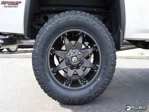 Gmc Sierra 1500 Fuel Octane D509 Wheels Matte Black
