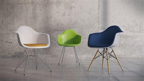 Vitra Eames Plastic Armchair Daw Dar Dax Rar 3d Model Fbx