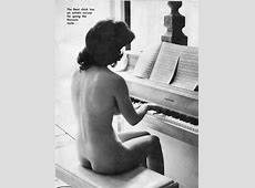 Naked Beatnik And Her Piano Me And The Piano
