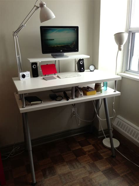 home office standing desk ikea standing desk hack for home office desk minimalist
