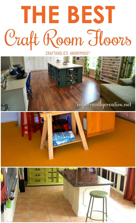 Craftaholics Anonymous®  The Best Craft Room Flooring
