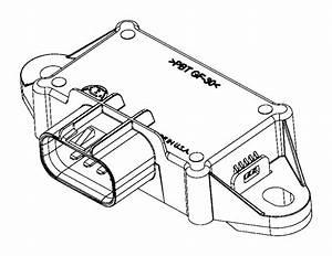 2017 Dodge Challenger Module  Fuel Pump Control  Body  Tank  Gallon