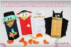 Halloween Sachen Basteln : halloween schokoverpackung ~ Whattoseeinmadrid.com Haus und Dekorationen