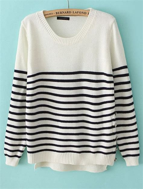 and white striped sweater navy white striped sweater style