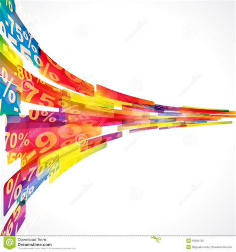 discount sale abstract background royalty  stock