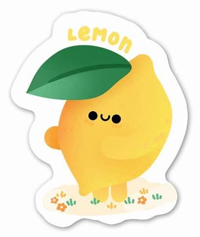 Lemon Stickerapp