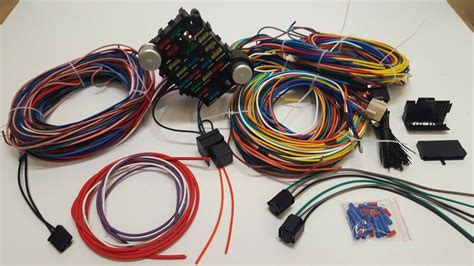 65 Mustang Wiring Harnes by Universal Gearhead 1964 1965 1966 Ford Mustang Fairlane