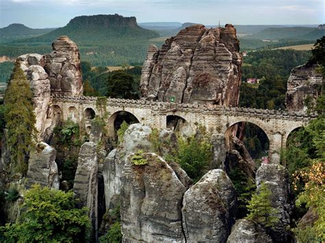 saxon switzerland national park germany national